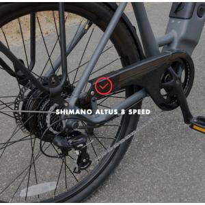 Rear suspension e-bike
