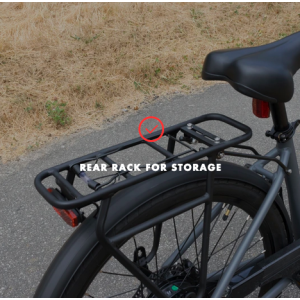 Gio Storm E-bike storage rack